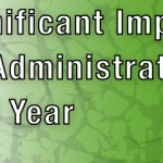 BPIE - Significant Impact on Administrators This Year